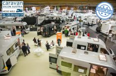 Der Caravan Salon Österreich 2019 in Wels ist Österreichs größte Messe für die mobile Freizeit. (Foto: Caravan Salon Austria)