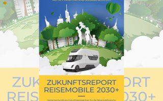 """Jetzt verfügbar: Die neue Studie """"Zukunftsreport - Reisemobile 2030+"""" von Prof. Dr. Josef Fischer und dem Deutschen Caravaning Institut (D.C.I.) befasst sich mit den spannenden Zukunftsaussichten der Reisemobil-Branche bis 2030. (Grafik: D.C.I.)"""
