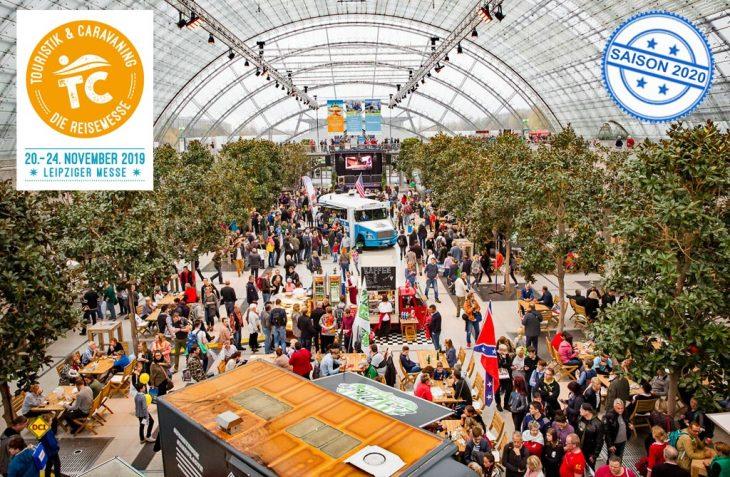 Die Reise- und Carvaningmesse Touristik & Caravaning 2019 in Leipzig findet zum 30. Mal statt und wird Treffpunkt der Branche im November. (Foto: det / D.C.I.)