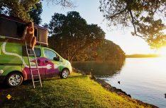 Grüner Trip: Beim Vermietportal CamperDays können jetzt in Neuseeland e-Wohnmobile gebucht werden. (Foto: CamperDays)