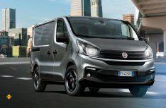 Das kompakte Transportermodell Talento von Fiat Professional präsentiert sich agiler und leistungsfähiger. Der in drei Leistungsstufen verfügbarer Zweiliter-Turbodiesel erfüllt Emissionsnorm Euro 6d-Temp. (Foto: Fiat Professional)