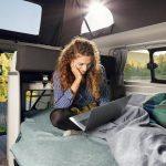 Internet für unterwegs – Ford Transit Custom Nugget jetzt mit WLAN-Hotspot
