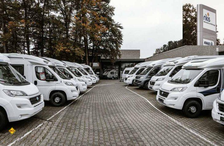 Mit Rikis Wohnmobil und Wohnwagen aus Schifferstadt bekommt Europas größte Caravaning-Fachhandelskette InterCaravaning weiteren Zuwachs. (Foto: Intercaravaning)