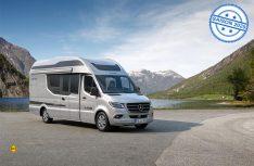 Für 2020 kündigt die Reisemobilmanufaktur La Strada in Echzell eine Neuauflage der beliebten Prestige-Baureihe Nova an. (Rendering: La Strada)