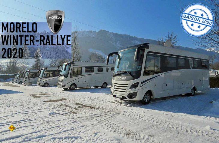 Der Premium-Hersteller Morelo lädt zur traditionellen Winter Rallye 2020 in den Caravan Park Sexten in Südtirol ein. (Foto: Morelo)