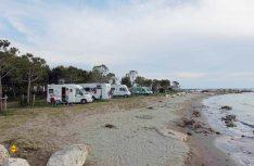 Camping Pa emer - näher am Strand geht nicht. (Foto: wör / D.C.I.)