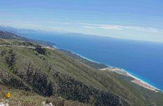 Blick vom Llogara Pass auf dem Weg ans Mittelmeer. (Foto: thw / D.C.I.)