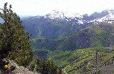 Mächtig_ Die albanischen Alpen. (Foto: thw / D.C.I.)