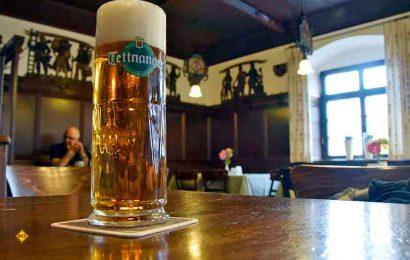 Wer einmal um den Bodensee fährt, kann auch in einer Weinregion einmalige Biergenüsse entdecken und vielleicht die Feststellung teilen, dass Bier doch der bessere Wein ist. (Foto: Blanz)