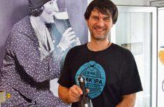 Dietmar von Hops'n'Malt ist in Österreich einer der wenigen Craft-Beer-Händler. (Foto: Blanz)