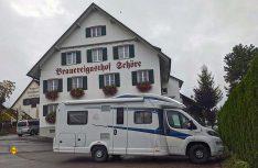 Der Brauereigasthof Schöre bietet vier eigene Biersorten zum Probieren und Verkosten an. (Foto: Blanz)