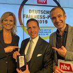 Zum dritten Mal – Weinsberg erhält auch 2019 den begehrten Deutschen Fairness-Preis