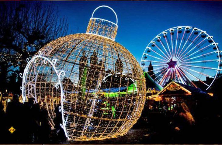 Eine echtes Highlight der Weihnachtszeit: Der Kerstmarkt in den Grotten von Valkenburg. (Foto: NBTC)