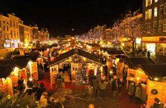 Weihnachtsmarkt in Leiden. (Foto: NBTC)
