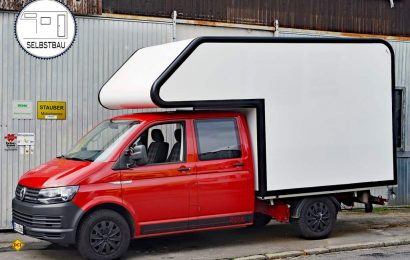 Das Deutsche Caravaning Institut begleitet den Auf- und Ausbau einer Leerkabine auf Volkswagen Doppelkabiner VW T6 und berichtet in mehreren Folgen von Freuden und Leid eines Selbsausbauers. (Foto: det / D.C.I.)