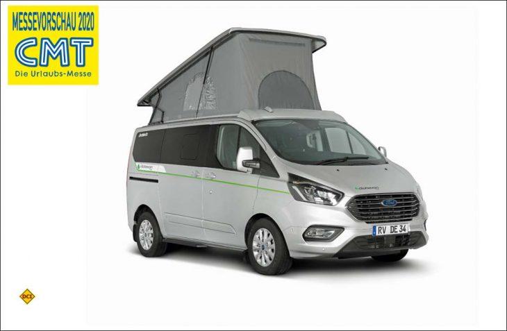 Der Globevan e.Hybrid ist das erste serientaugliche Dethleffs Reisemobil mit Plug-In-Hybrid. (Foto: Dethleffs)
