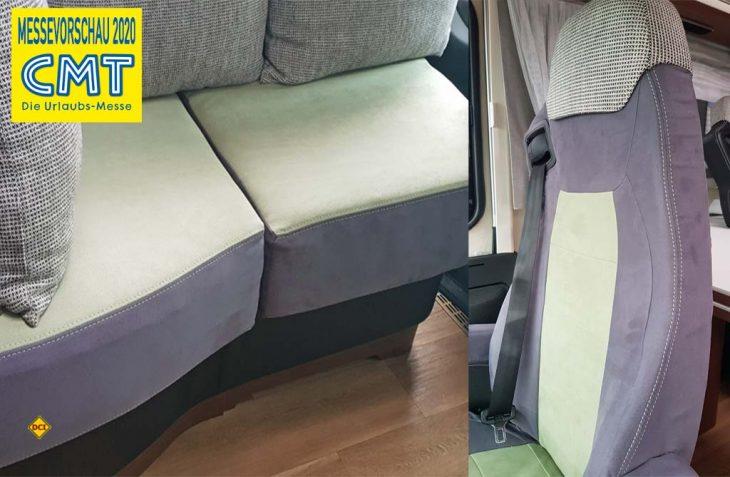 Fahrersitze und speziell Pilotensitze sowie ganze Sitzbänke kann G+S, die Polstermacher jetzt mit passgenauen Sitzhussen wirksam und elegant schonen. (Foto: G+S, die Polstermacher)
