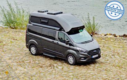 Länge läuft: Mit dem Nugget Plus hat Ford seine beliebte Reisemobil-Serie um eine Lang-Version mit Toilette und Waschraum erweitert. (Foto: det / D.C.I.)