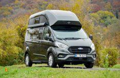 Das Facelift für die Nugget-Basis Ford Custom macht die Reisemobil-Kombination markanter. (Foto: det / D.C.I.)