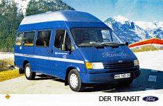 ...und Ford Transit Family aus dem Jahr 1989. (Foto: MT-Archiv)