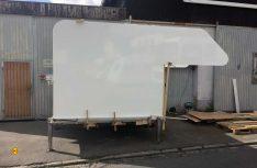 Die Seitenansicht zeigt die tatsächliche Größe der Kabine. (Foto Stauber)
