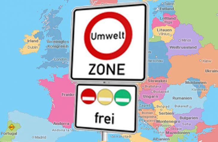 Autofahrer aufgepasst: Im nächsten Jahr werden in Deutschland und vielen europäischen Ländern neue Umweltzonen eingerichtet. (Foto: BMU)