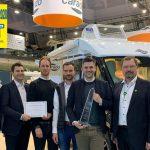 Messesplitter CMT 2020 – Carado gewinnt DCC-Sicherheitspreis 2020