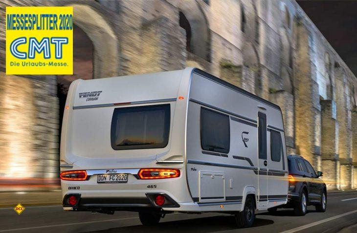 Der neue Bestseller 465 SFH jetzt auch in der Baureihe Bianco: Der Bianco Primo 465 SFN on Fendt Caravan. (Foto: Fendt Caravan)