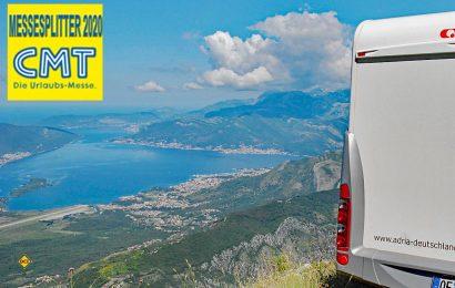 Wohnmobile herzlich willkommen - Montenegro ist mit unberührter Natur, schwarzen Bergen, grünen Tälern und tiefblauem Meer ein ideales Land für mobile Touristen mit Wohnmobil und Wohnwagen. (Foto: det / D.C.I.)