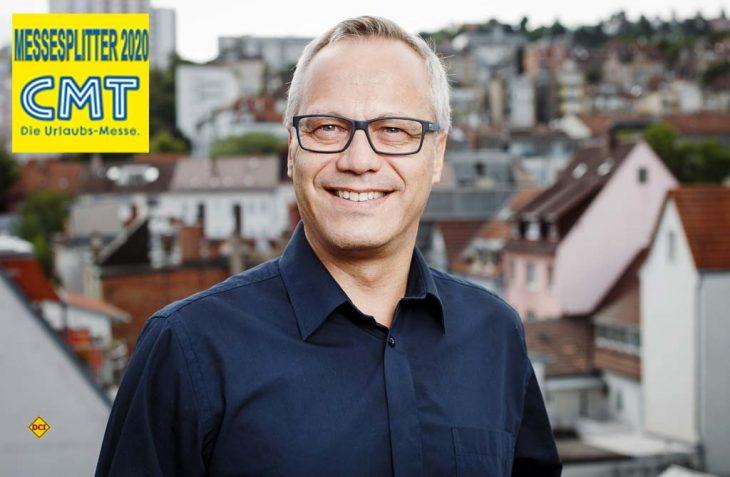 Andreas Braun ist Geschäftsführer des Tourismus Marketing Baden-Württemberg (TMBW). (Foto: TMBW/Kreymborg)