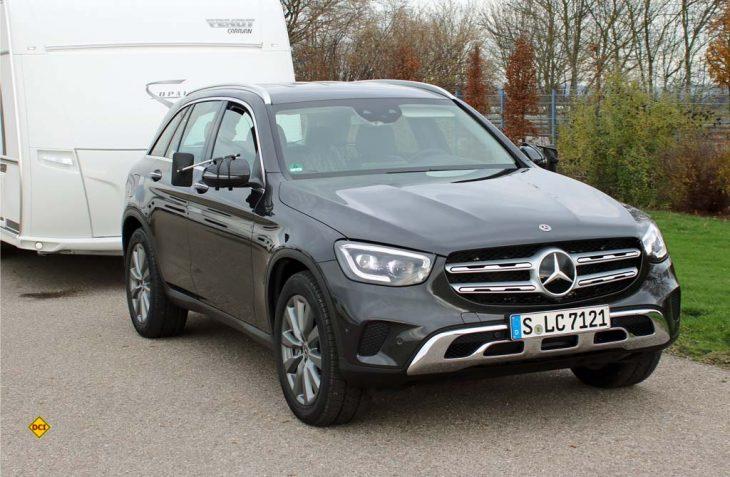 Das Exterieur-Design des neuen Mercedes-Benz GLC ist durch die sportliche Optik charakterisiert. (Foto: sis / D.C.I.)