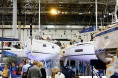 """Jede Menge Schiffe, Neuheiten und Produkte bietet die """"Boot Düsseldorf 2020"""" den Besuchern. Unser Tipp: Hingehen! (Foto: Messe Düsseldorf / ctillmann)"""