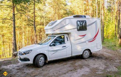 Der Lada Granta als Reisemobil ist für 29.990 Euro zu haben. (Foto: Schwab/madeinrussia.de)