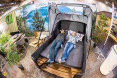 Die Messe Essen bietet auf der R+C ein umfassendes Angebot an Fahrzeugen und Zubehör fürs mobile Reisen: Von Caravans, Campern und Wohnmobilen über Zelte, Faltcaravans und Mobilheime. (Foto: Messe Essen)