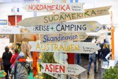 Fernweh garantiert. Die Besucher auf der R+C können sich zu vielen traumhaften Zielen weltweit informieren. (Foto: Messe Essen)