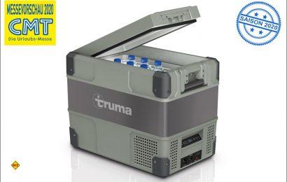 Truma startet mit der Serie Cooler erstmals mit acht Kompress-Kühlboxen in die neue Saison. (Foto: Truma)
