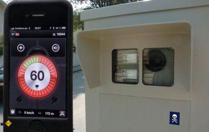 Die Nutzung von Smartphone Blitzer-Apps und Blitzerwarnern in Navigationsgeräten ist seit 20. Februar während der Fahrt im Straßenverkehr definitv nicht mehr erlaubt. (Foto: D.C.I.)