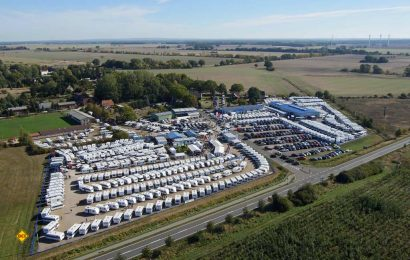 Auch 2020 wird wieder volles Haus bei der Frühjahrsmesse erwartet: Caravan-Wendt in Kremmin ist der zweitgrößte Caravaning-Händler in Deutschlands. Er lädt wieder zur traditionellen Frühjahrsmesse ein. (Foto: Caravan-Wendt)