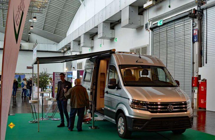 Die Traditionsmarke Eifelland ist wieder da - mit dem Office-Mobil Eifelland Executiv startet die Marke neu. (Foto: det / D.C.I.)