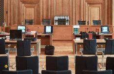 Ein aktuelles Gerichtsurteil vom Bundesverwaltungsgericht in Leipzig vom 27. Februar 2020 stellt fest: Diesel-Verkehrsverbot kann bei absehbarer Einhaltung des Grenzwerts für Stickstoffdioxid unverhältnismäßig sein. (Foto: Bundesverwaltungsgericht)
