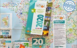 Über 2.050 Etappenziele mit über 10.000 Reisemobil-Stellplätzen bietet France Passion 2020 wieder an. (Foto: det / D.C.I.)