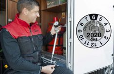 Gefährliche Sicherheitslücke: Die Gasprüfung für Reisemobile ist seit Jahresanfang bis 2023 nicht mehr Bestandteil der Hauptuntersuchung nach § 29 StVZO. (Foto: Kues)