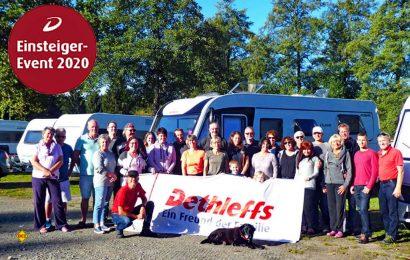 Dieses Jahr veranstaltet Dethleffs zum vierten Mal Schnuppertage für Caravaning-Einsteiger in Isny. (Foto: Dethleffs)