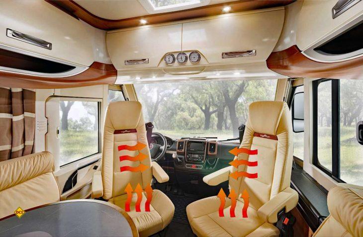 """Geld sparen und antizyklisch planen: Wer die G+S-Sonderaktion """"Heiße Sitze"""" jetzt nutzt, hat mit einer preisgünstigen Sitzheizung für den Winter vorgesorgt. (Foto: Carthago / D.C.I.)"""