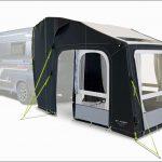 Dometic präsentiert aufblasbares Heckzelt für Kastenwagen