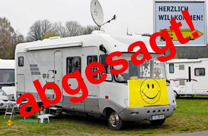 Die 8. Lüneburger Wohnmobiltage sind offiziell abgesagt. (Foto: det / D.C.I.)