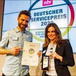 Camper-Sharing-Plattform PaulCamper wird erneut mit dem Deutschen Servicepreis ausgezeichnet