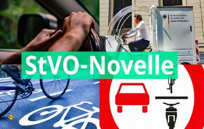 Minister Andreas Scheuer rudet zurück: Teile der Novelle der StVO vom 28. April 2020 sollen geändert werden. (Foto: BMVI)