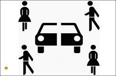 Symbol-Zeichen Carsharing: Das Carsharing wird mit neuen Verkehrsvorschriften und Zeichen deutlich unterstützt. (Grafik: BaSt)