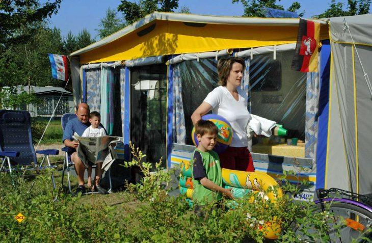 Soll nach den Vorstellung der Deutschen Campingwirtschaft bald wieder starten: Campingtourismus auf den deutschen Campingplätzen. (Foto: Camping Havelberge)